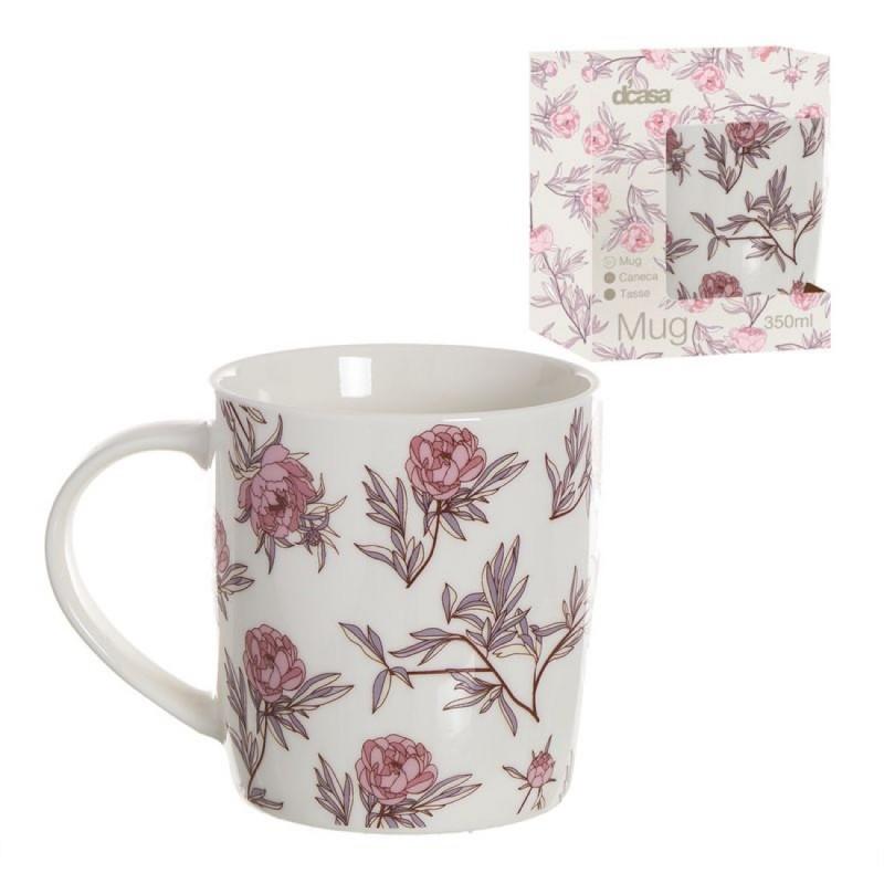 Taza Mug Ceramica 350 ml Daisy 10 cm