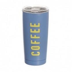 Taza Termo Café Acero Inoxidable 590 ml Gris