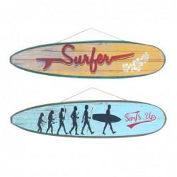 Adorno Pared x2 Tablas de Surf  80 cm