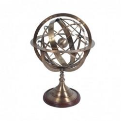 Figura Decorativa Bronce Esfera Armillary Retro Luxury 70 cm