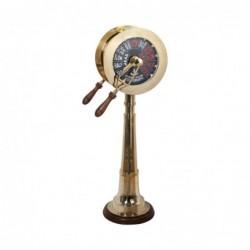 Figura Decorativa Bronce Telegrafo Barco Retro Luxury 91 cm