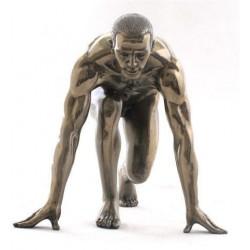 Figura Resina Decorativa Hombre Running 17 cm