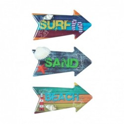 Iman de Nevera x3 Surf 7 cm