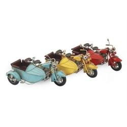 Figura Moto Sidecar Retro Surtido( 1 unidad)
