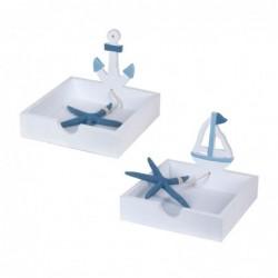 Servilletero x2 Modelos Marino 18 cm