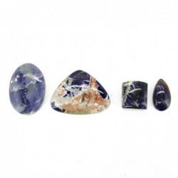 Piedra Cabujón de Sodalita (Pack 30gr)