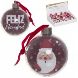 Adorno de Navidad con Portafotos Papa Noel 7 cm