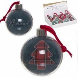 Adorno de Navidad con Portafotos Winter Christmas 7 cm