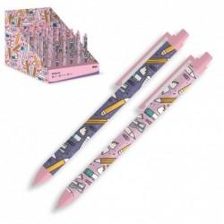 Boligrafo Pencils Lila x2 Modelos