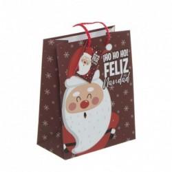 Bolsa Regalo Papel M Papa Noel