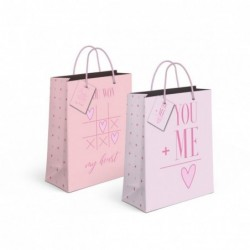 Bolsa Regalo Papel S Love x2 Modelos