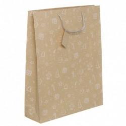 Bolsa Regalo Papel XL Craft Navidad