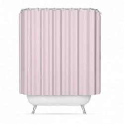 Cortina Baño Poliester Rosa