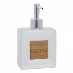 Dispensador Jabon Bath Blanco