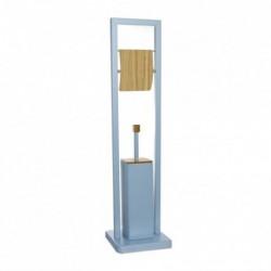 Escobillero WC con Portarollos Bambu Azul