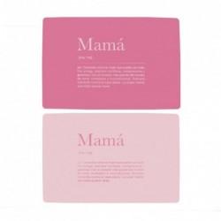 Individual 28x43 cm Mama x2 Colores