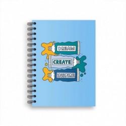Libreta A5 Pencils Azul