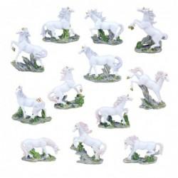 Figura Decorativa Unicornio Surtida Resina Caballo 8 cm (1 unidad)