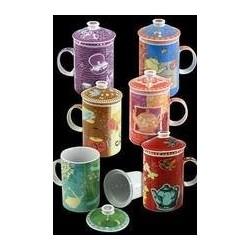 Mug Con Filtro y Tapa Colores Surtidos (1 unidad)