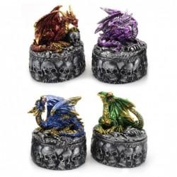 Caja Decorativa Dragón Surtido Decoración Fantasía 7 cm (1 Unidad)