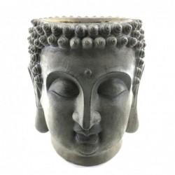 Figura Decorativa Stand Cabeza Buda Resina 51 cm
