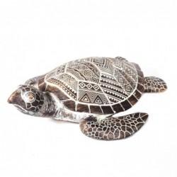 Figura Decorativa Tortuga Resina 27 cm