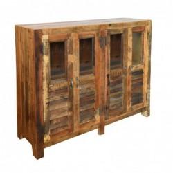 Mueble de 4 Puertas de Madera 118 cm