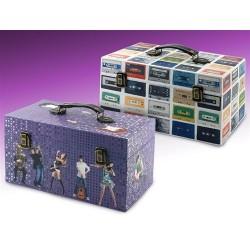 Set de 2 cajas-maletin CDs