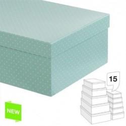 Juego 15 Cajas Carton Mint