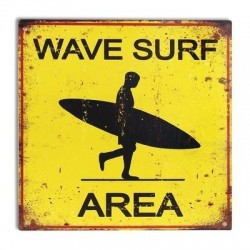 Placa Pared 30x30 cm Surf Area