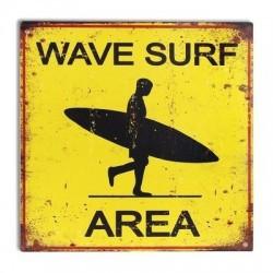 Placa Pared 30x30 cm Surf Area