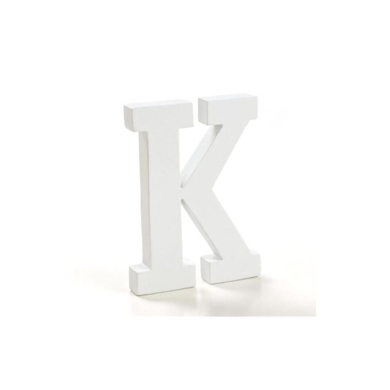 Letra Madera K 12 cm
