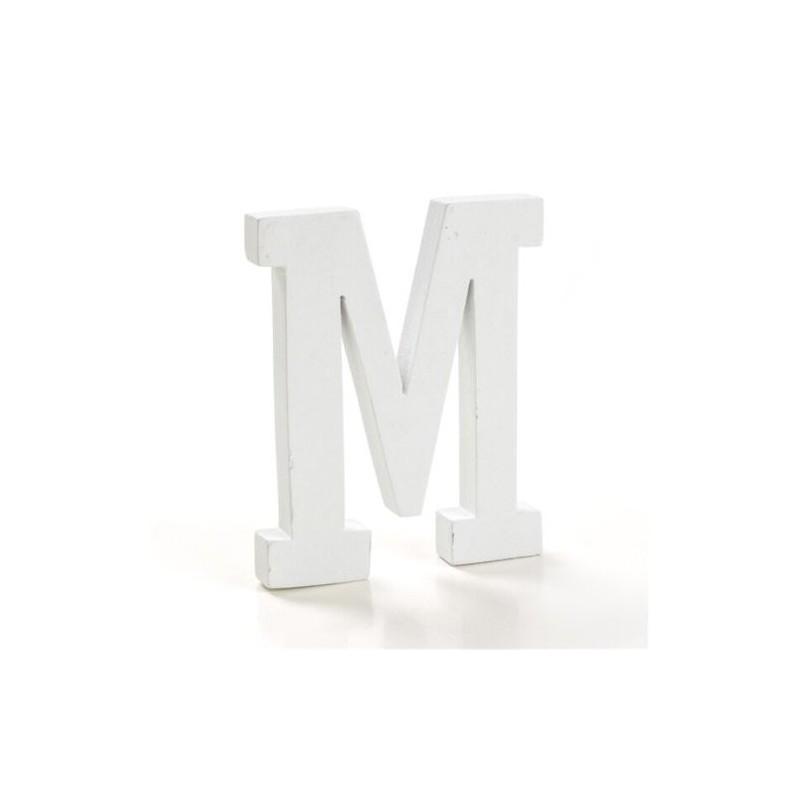 Letra Madera M 12 cm