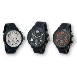 Reloj de Pulsera DAKOTA Analogico Negro Chrono