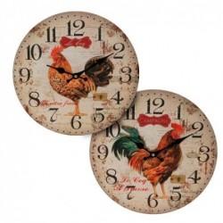 Reloj Pared Gallo Surtido (1 unidad) 34 cm