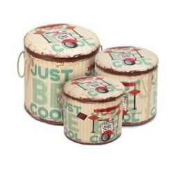 Set 3 Cajas Be Cool 43x40 cm