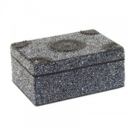 Caja Rectangular Negra 13x18 cm