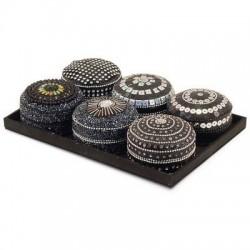 Caja Oval x6 Modelos Con Bandeja