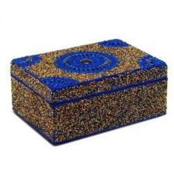 Caja Rectangular Azul 13x18 cm