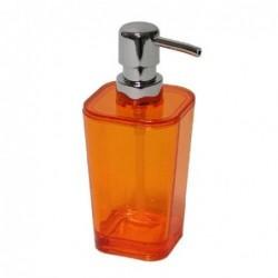 Dosificador Jabon Naranja Acrilico