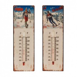 Termometro Pared  Ski Surtido ( 1 unidad) 25 cm