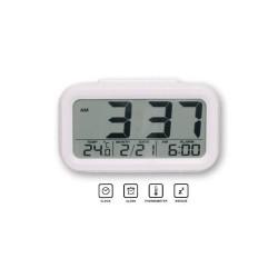 Reloj Despertador de Viaje Multifuncion Colores Surtidos