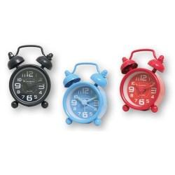 Mini Reloj Despertador Colores 4 cm Surtido (1 unidad)