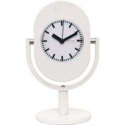 Reloj Despertador Blanco Analogico