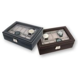 Caja 12 Relojes Negra