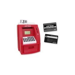 Hucha Electronica Cajero Roja