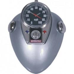 Reloj de sobremesa Deposito Gasolina Moto 8 cm