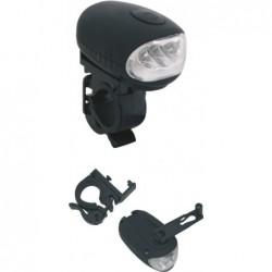 Linterna con soporte para manillar bicicleta