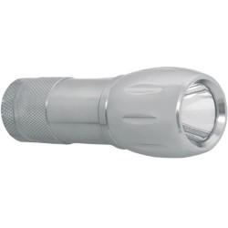Linterna aluminio 1 wah/led. 10 cm.