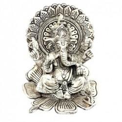 Figura Budista Ganesh Aluminio 14 cm
